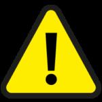 High risk sign