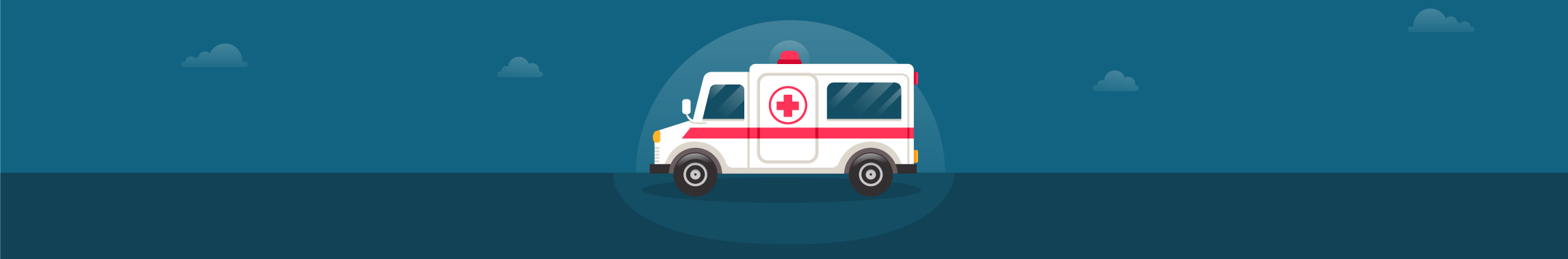 NHS ambulance symbolic of pension