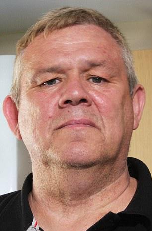 A portrait photo of Allan Gare